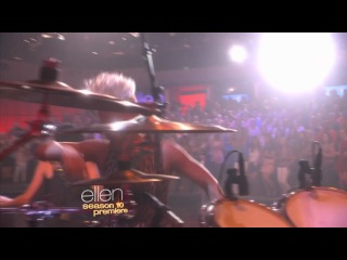 Pink - Blow Me (One Last Kiss)  Live on Ellen